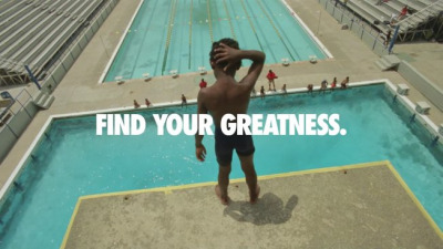 Find your greatness. Nike Ad