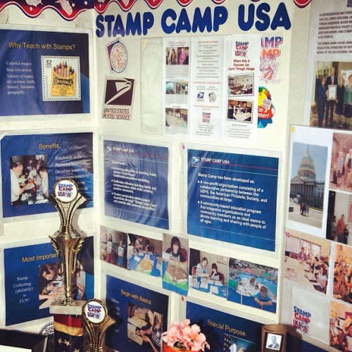 The Stamp Camp USA kids are having a blast at #cse. #stamps #usps (Taken with Instagram)