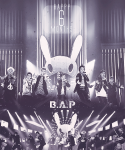 B.A.P HAPPY 6 MONTHS ♥ I'm soo Happy <3 ^_^