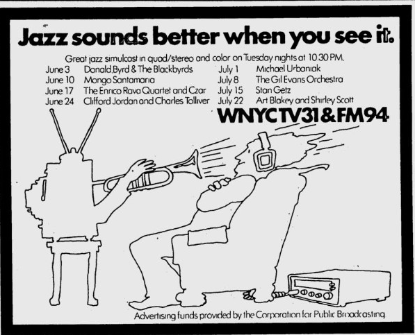 """Jazz Sounds Better When You See It"" (From Village Voice, June 2, 1975)"