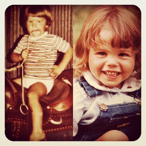 #ChanningTatum and #JennaDewan…the cutest toddlers! #throwbackthursday #TBT (Taken with Instagram)
