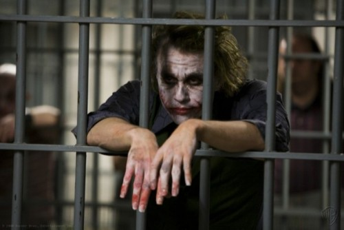 "According to 'The Dark Knight Rises' novel, the Joker was the sole inmate left in Arkham Asylum now that Blackgate held all of the other inmates. From the novel, by Greg Cox: ""Now that the Dent Act had made it all but impossible for the city's criminals to cop an insanity plea, it (Blackgate Prison) had replaced Arkham Asylum as a preferred location for imprisoning both convicted and suspected felons. The worst of the worst were sent here, except for the Joker, who, rumor had it, was locked away as Arkham's sole remaining inmate. Or perhaps he had escaped. Nobody was really sure. Not even Selina."""