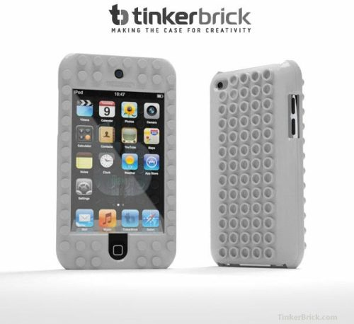 maxigadget:  TinkerBrick LEGO case for iPod Touch, more than just a simple case