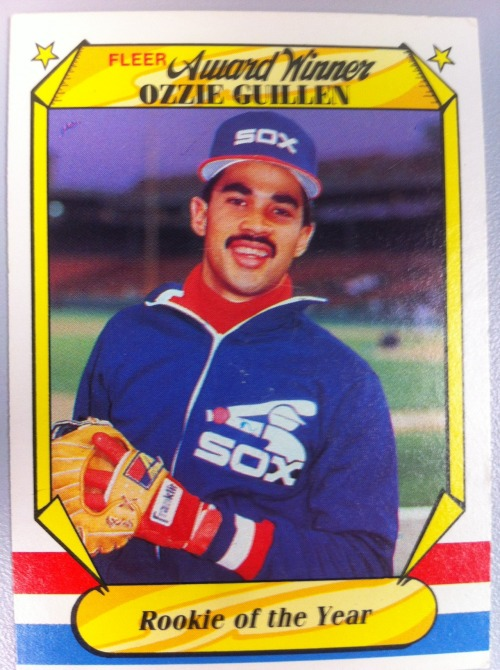 Things used to be a lot easier for Ozzie Guillen. He was a slick-fielding shortstop that won the 1985 AL Rookie of the Year award, all while sporting arguably the best uniform of the 1980s (see above). He won a World Series in 2005 with his beloved Pale Hose, sticking it to their bitter crosstown cosmopolitan rivals, the Cubs. Then he broke his contract, took the money and absconded to Miami, where the smear of the loathsome Jeffrey Loria tainted Ozzie's passion for baseball into something more closely resembling zealotry. After the Castro comments, taking potshots at Bryce Harper and failing to get through to Hanley Ramirez, Ozzie's Florida Miami career is off to a woozy start.