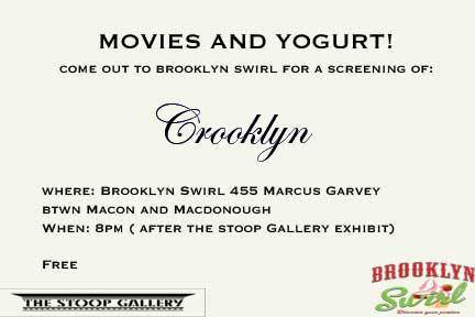Movies and yogurt after The Stoop Gallery Presents: Digging through the Personal Archive, work inspired by what is hidden