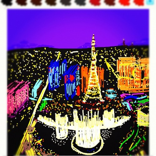 jdavis34:  #drawsomething #vegas #lasvegas (Taken with Instagram at Drawsomething: Vegas)