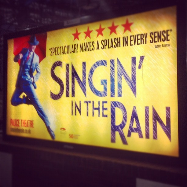 #instagood singing in the rain. Ironic for #scotland  (Taken with Instagram)