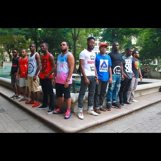 Tees vs Tanks shoot shot by @rickycodio with @don_thedntnboy @anmlhse_bear @ALWAYSabstract @giannilee  #tanks #tees #photography #photoshoots #KRT  (Taken with Instagram)