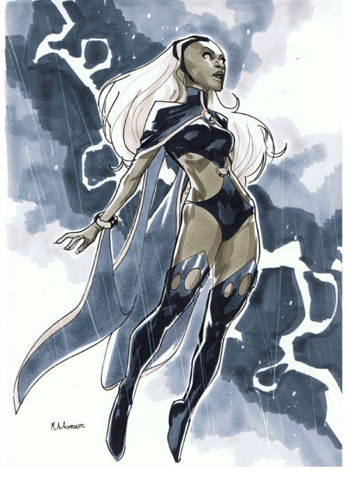 Comic Con Paris 2012 Convention Sketch - Storm