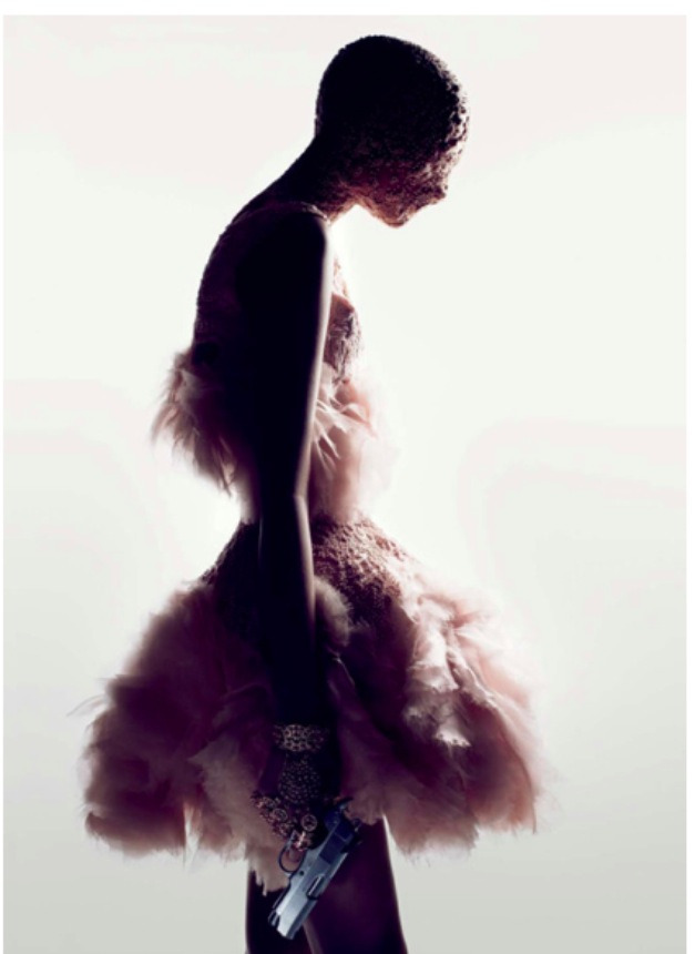 Fashion to die for! Sarah Burton for the house of McQueen