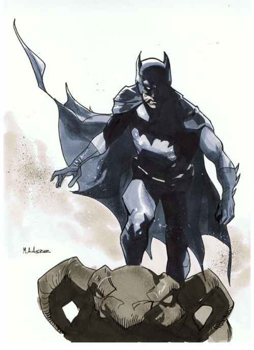Comic Con Paris 2012 Convention Sketch - Batman