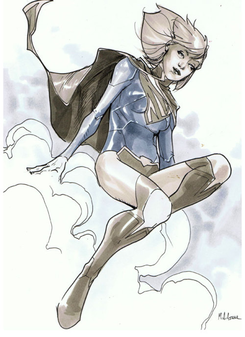 Comic Con Paris 2012 Convention Sketch - Supergirl