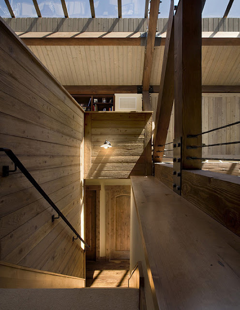 justthedesign:  justthedesign: Staircase, Ranch in Franktown.