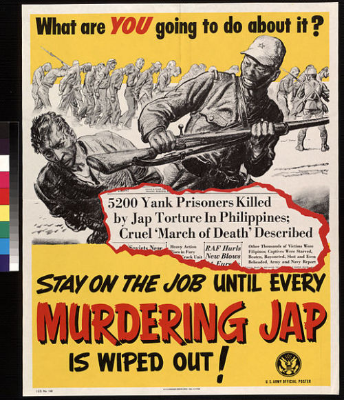 American World War II poster.