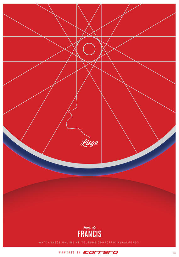 my amazingly talented friend @jamiecraven made these cycling posters