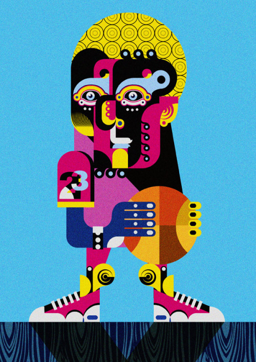 (via Abstract - Jonny Wan Illustration)
