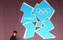THE OLYMPICS JOINS TUMBLR Much like our own tumblr, The London Olympics has it's own official tumblr. The imagery is amazing and inspiring. olympicmoments:  Michael Phelps of the USA Swim Team arrives for a press conference at the Main Press Center  Photo by Ryan Pierse/Getty Images