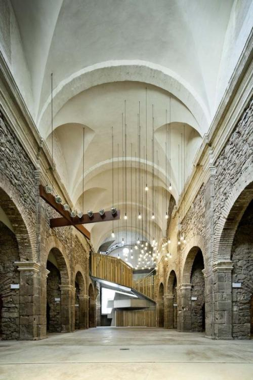 convent de sant francesc restoration by david closes  via la tempestad