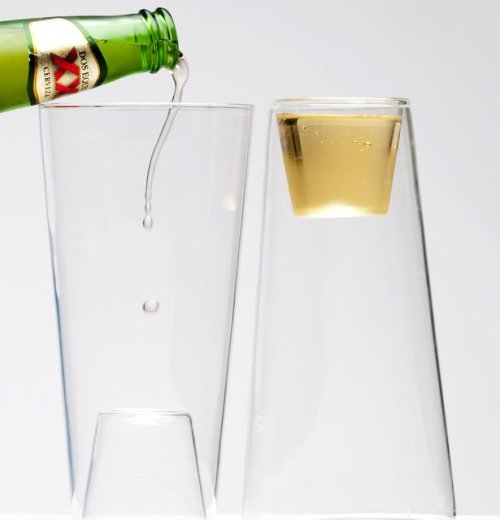 Beer/Shot Glass @thefancy.com