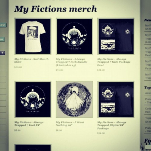 topshelfrecords:  Pre orders for the new @myfictionsband ep are now live at tsr-store.com  (Taken with Instagram)