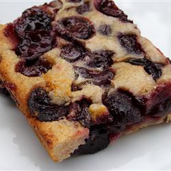 Fresh sour cherries make this summer cobbler rock. What's your favorite cherry dessert?