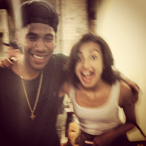 Hey look it's Hodgy and I (Taken with Instagram)