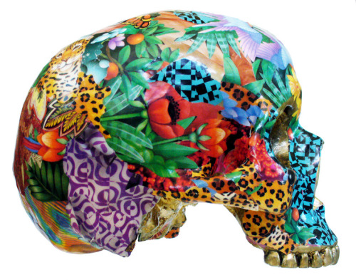 Skull sculptures by RAra Collective