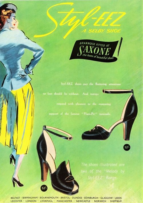 From Vogue, May 1949. Vintage Scans