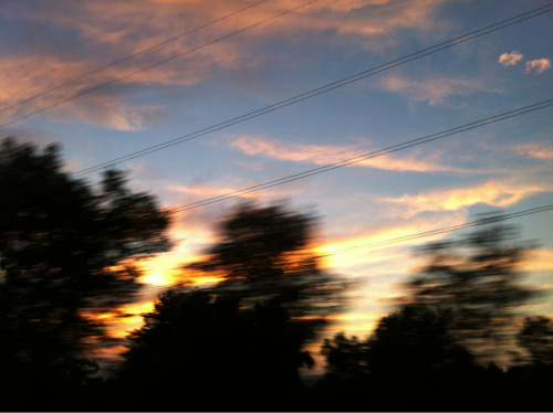 project365: Sunset in motion. (Day 237/365)