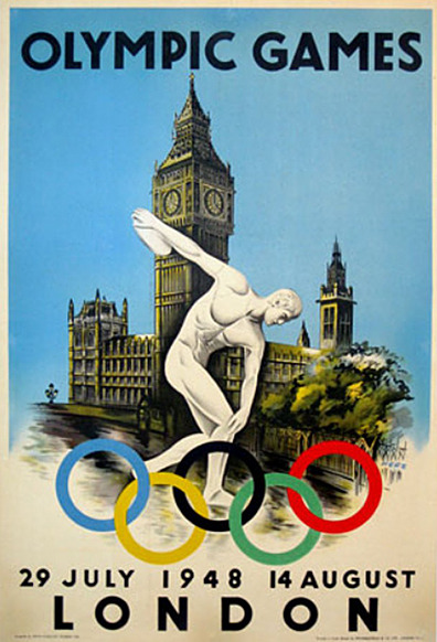 Vintage Olympic Posters | 1948 London Games