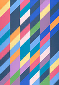 Bridget Riley, Shadow Play, 1990