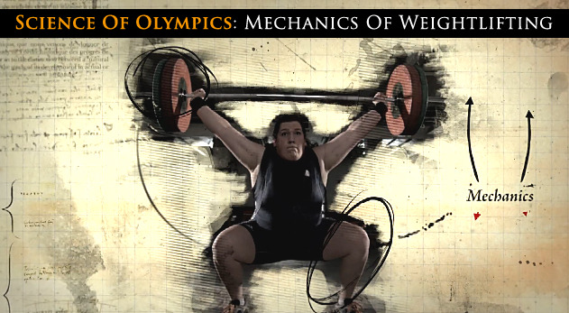 "NBC put together a really great video about an athletes movements with Olympic lifting.  They recorded her lifts with high speed cameras and then broke it down.  Further proof that moving heavy weight is much more than just ""a big person lifting things off the ground"".  Far more to it than that. Watch the video here (Would have embedded the video but NBC has that disabled)."
