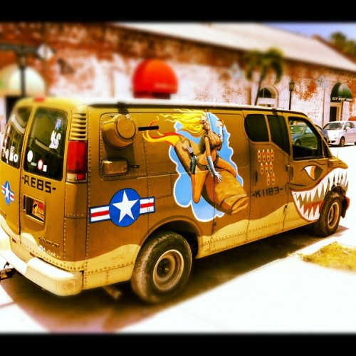Rape Van: Part 2  (Taken with Instagram)