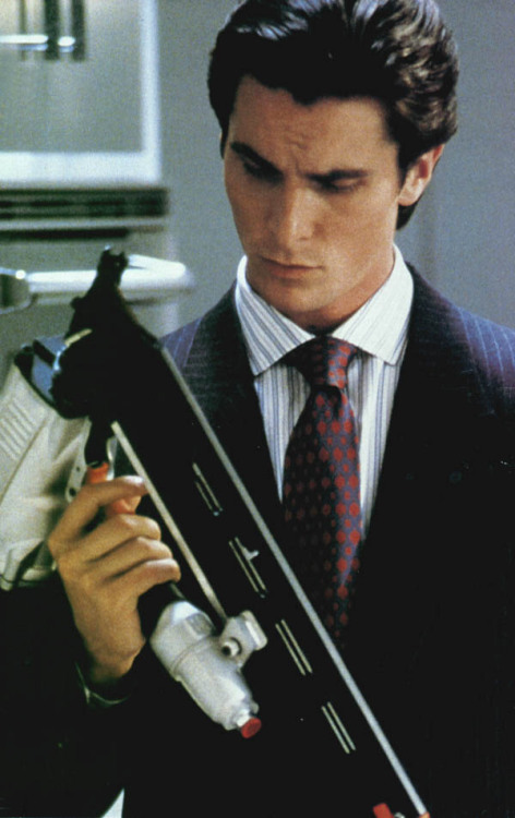 you can be my american psycho