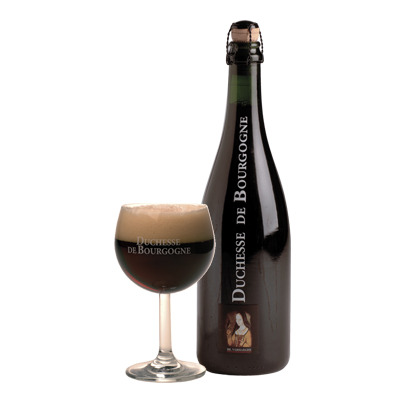 thegreatbeerquest:  Review: Duchesse de Bourgogne (Tap) Went to Maduro's Cigar Bar in Madison last night in the middle of a huge thunderstorm, which made for a pretty cool environment. If you're ever in the Wisco capital on a weeknight I would definitely recommend it for a good list of about 20 taps and of course lots of cigars if that's your thing. Anyway Duchesse de Bourgogne is a very old and pretty famous Sour Ale from Brouwerij Verhaeghe in Belgium, and for good reason. Aged in oak casks as many sour ales are, this is a relatively complex beer. The aroma is mostly olive, red wine, and cherries, with those following through on the taste buds where they are accompanied by raspberry, wood, and some rich sugary malts. It's a little sweet and perhaps not quite sour enough, but for an affordable sour ale, you won't do too much better than this.  Niko (FF) Score = 9/10