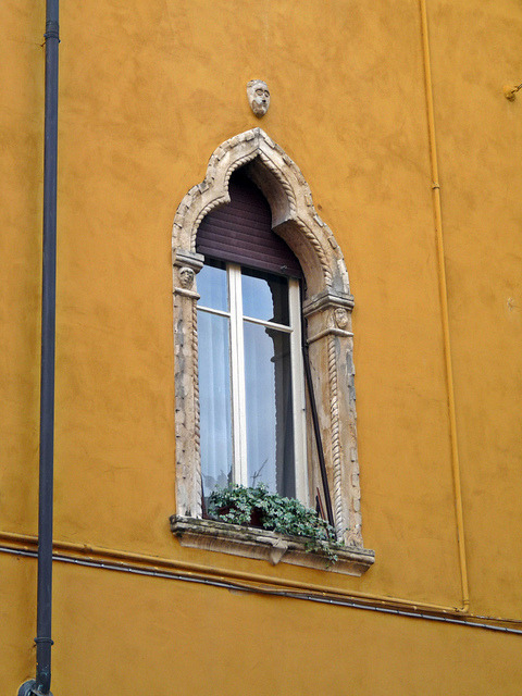 Verona: a typical Venetian style window by presbi on Flickr.