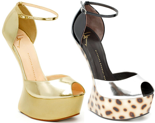 giuseppe zanotti heel less shoes collection
