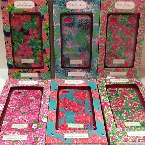 New iPhone 4/4s Cases just arrived! #lillypulitzer #lifeguardpress #flamingos #pinkbee #iphone #iphonecase  (Taken with Instagram at Pink Bee A Lilly Pulitzer via Shop)