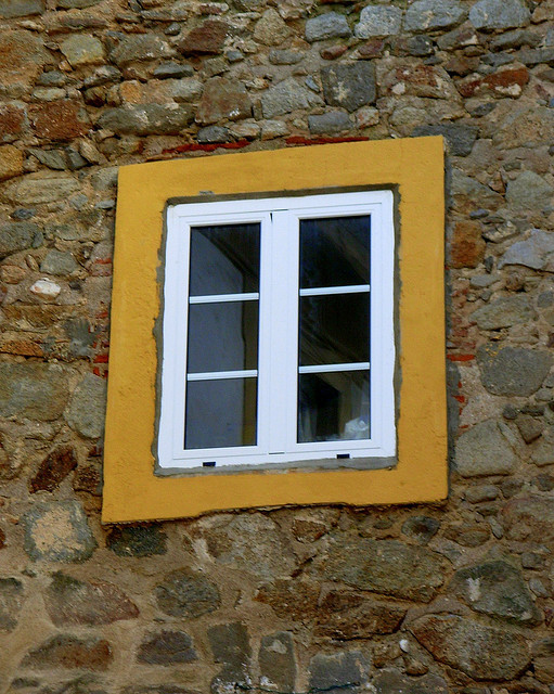 Stoned window by CláudiaM on Flickr.