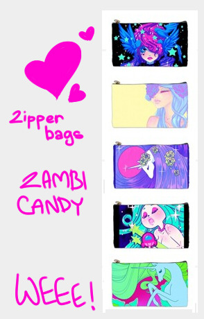 Ordered some more zipper bags :) I'll probably get them in a few weeks.