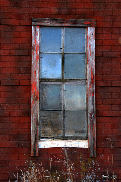 A Window To The Past ~EXPLORE 12/10/2009 by Don3rdSE on Flickr.