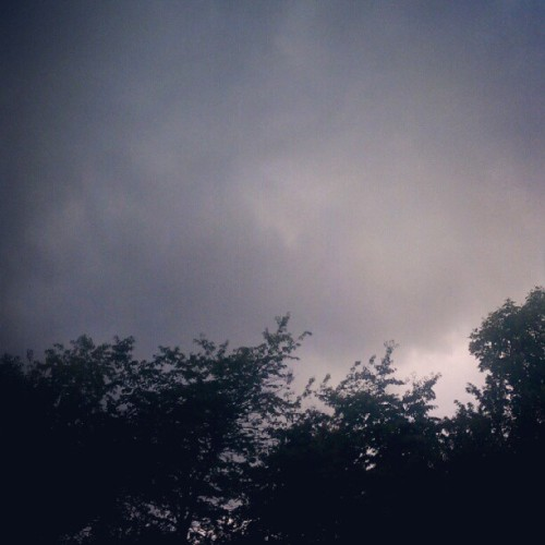 Storm's a brewin (Taken with Instagram)