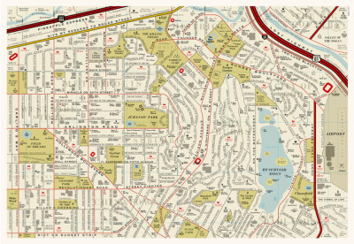 Film Map by We Are Dorothy (via Infographic: A Street Map Of Famous Places In The Movies | Co.Design: business innovation design)
