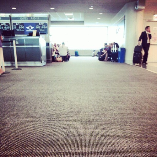 Waiting to board #FL (Taken with Instagram)