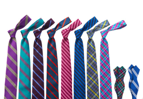 gqfashion:  Bonobos Ties - Coming This Holiday Season Bonobos, the Cali-born clothing line that specialized in pants from the start, tweeted a couple of sneak-peek photos of its inaugural fall/holiday tie collection yesterday.