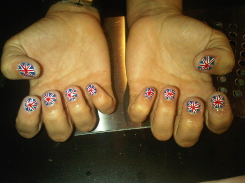 GB NAILS FOR OLYMPICS BY JV. YEEEAH!!