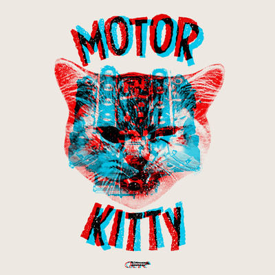 new print/shirt go get one!  (via Motor Kitty Art Print by Gimetzco! | Society6)