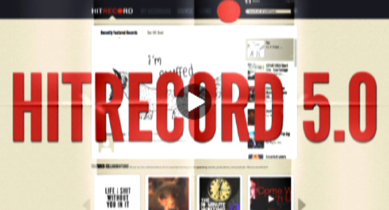 hitrecord:  Marke, our Creative Director, has the lowdown on all the NEW FEATURES & FUNCTIONS on hitRECord 5.0, so CHECK 'EM ALL OUT! Thanks… and Enjoy! :oD  Yours truly talking about the improved hitRECord…