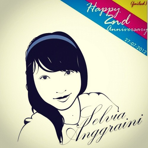 Failed anniversary :'( #iphonesia #instagram #instadialy #instagood #vector (Taken with Instagram)
