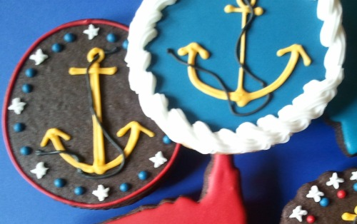 Navy sugar cookies!